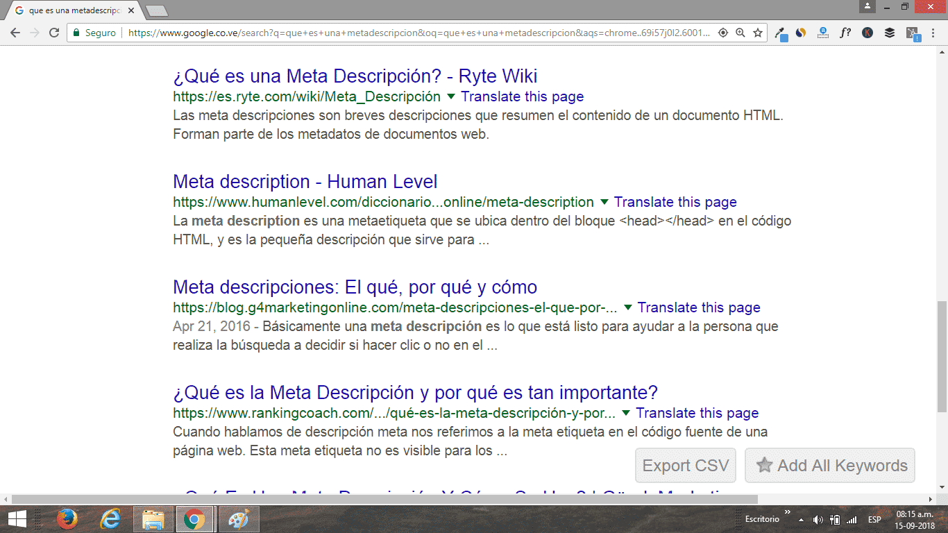 SEO-Metadescripcion