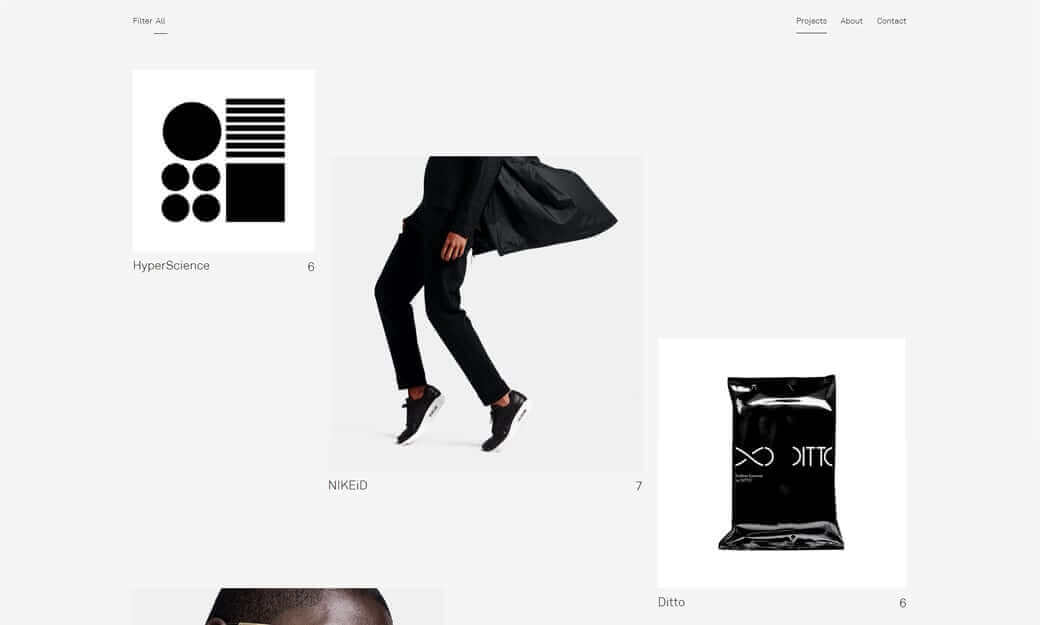 tendencias en diseño web | broken grid